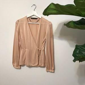 Other - Wrap Blouse